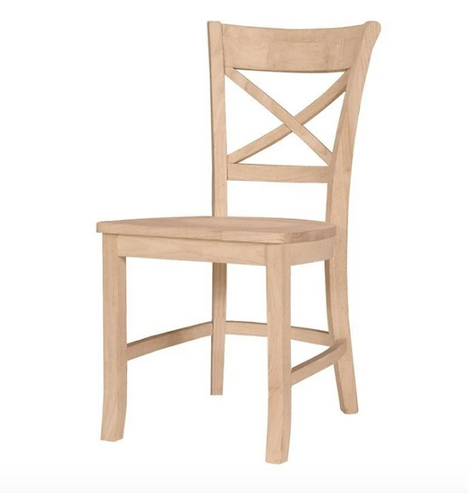 X-Back Hardwood Chair (3 Height Options)