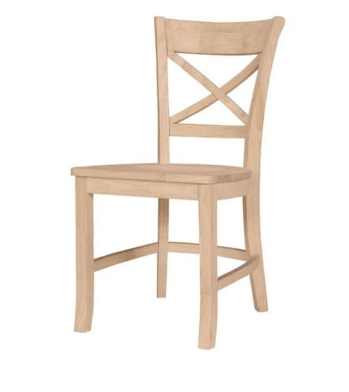 X-Back Hardwood Dining Chair (3 Height Options)
