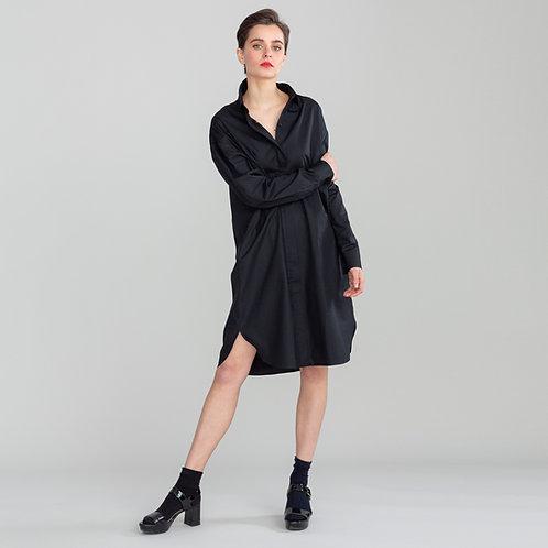 Shirt Dress Cannes Black