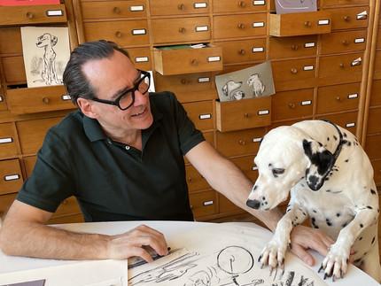 ANDER PECHER: Künstler & Hundefreund