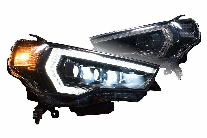 Morimoto XB LED Style Headlights: Toyota 4Runner 2010-2020