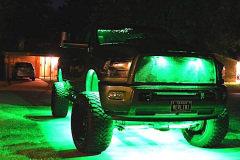 24pc RGB Rock Light Kit