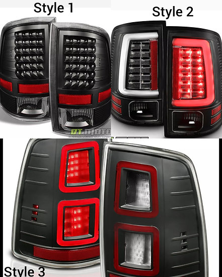 LED Tail Lights: 2009-2018 Ram