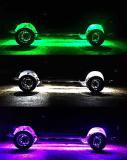 4pc RGBW Rock Light Kit