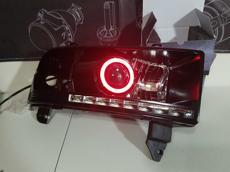 ASOI 2G11: Color Changing Halo Headlights