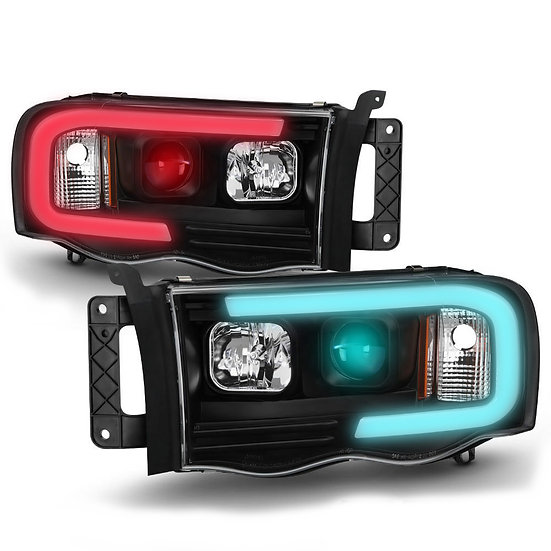 Build Your Own Color Changing DRL Style Headlights: 2002-2006 Ram