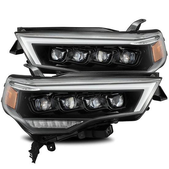 ALPHAREX Nova Quad Projector Headlights: Toyota 4Runner 2010-2020