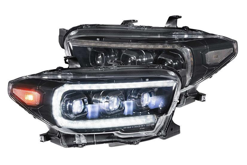 Morimoto XB LED Style Headlights: Toyota Tacoma 2016-2020