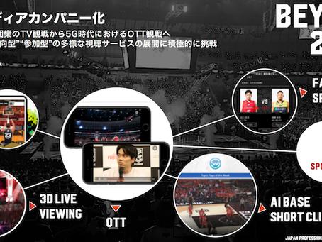 B.Leagueの「5年後の構造改革」に、スポヲタ x Aquimoのファン参加型ゲーム『Play Live』が!