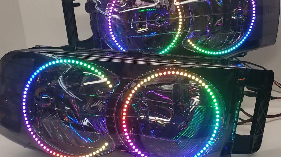 ASOI 3G1: Flow Series Halo Headlights
