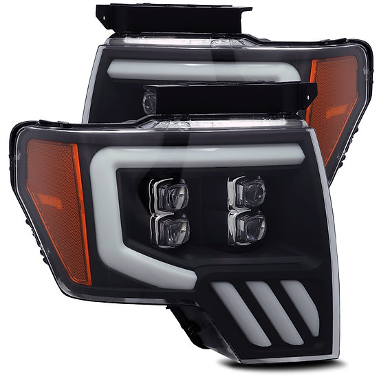 ALPHAREX NOVA Quad Projector Headlights: F150 2009-2014