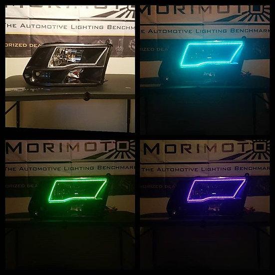 ASOI 4G2: Quad Style RGB Halo Headlights