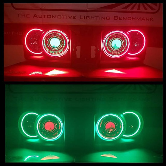 ASOI 3GFL3: Projector Retrofit and RGB Halo/Demon Eye Headlights