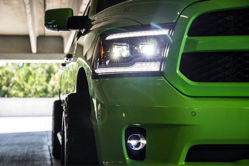 CUSTOM Morimoto XB LED Style Headlights: 2009-2018 Ram