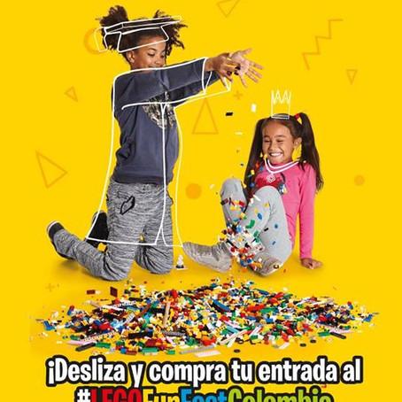 El Plan Recomendado para este mes #LegoFunFestColombia (Horarios, Costos de boletería, Parqueaderos)