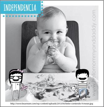 Crear hábitos de independencia en tus peques no te hace mala mamá!!