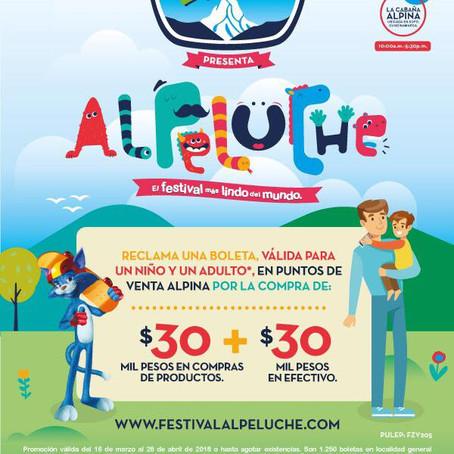 >>Abril de entretenimiento<< Evento recomendado -  Alpeluche Fest -