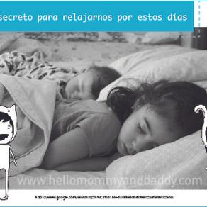 El secreto para que logren dormir temprano por estos días
