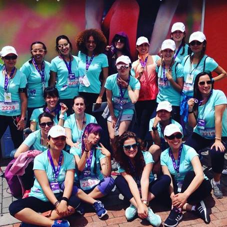 Les presento al Team de Discovery Home & Health para la carrera de la mujer #SOYMUJERHH