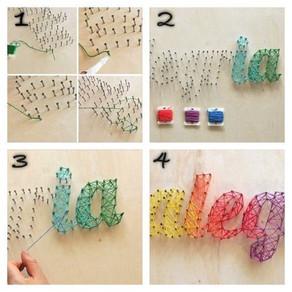 12 Ideas increíbles para decorar tu espacio favorito con string art