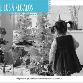 la ley de los 4 regalos ... la mejor idea para tus peques en esta navidad.