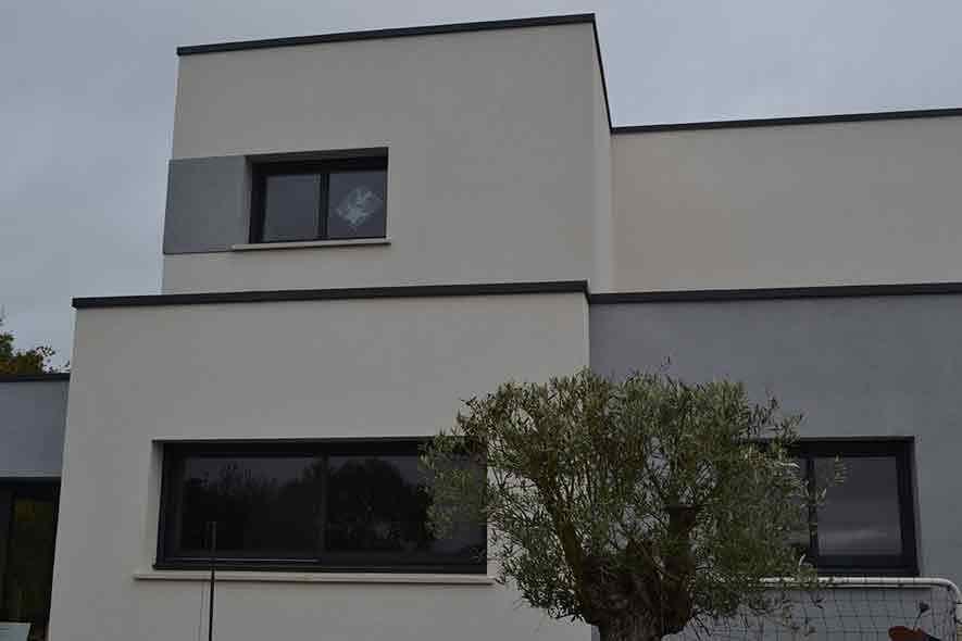 Maison toit plat Résidences Caennaises