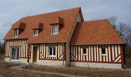 maison colombage Résidences Caennaises