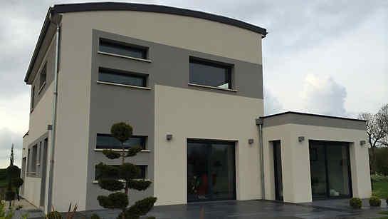 Maison toit cintré Residences Caennaises