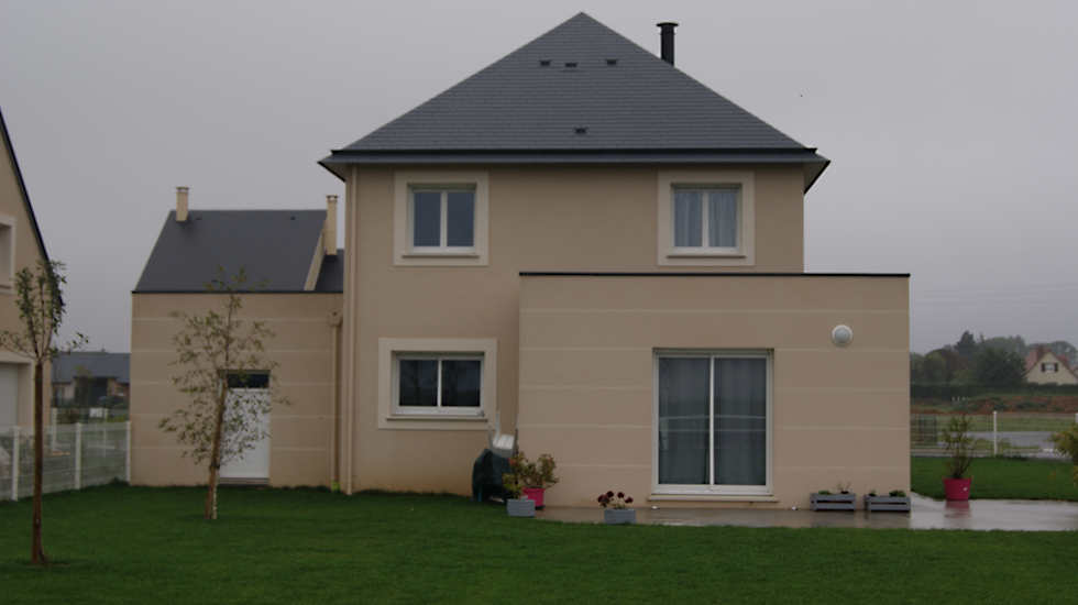 Maison toit Mixte Résidences Caennaises