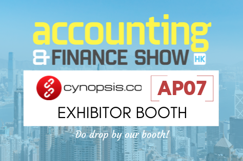 We Are Exhibiting At The Accounting And Finance Show Hong Kong