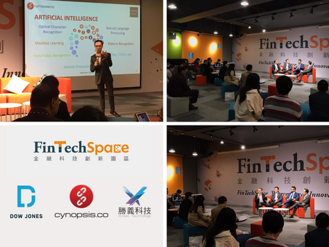 Cynopsis Team at the Taiwan FinTechSpace International Startup Sharing Session
