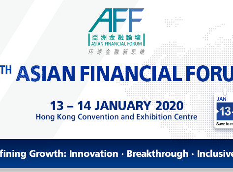 Upcoming Event at Hong Kong: Asian Financial Forum 2020