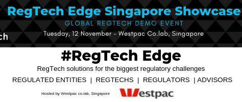 We Are Pitching At The RegTech Edge Singapore Showcase