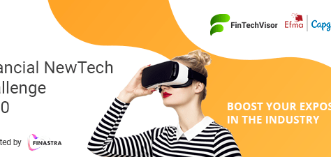 We are nominated for the Efma-Capgemini Financial NewTech Challenge 2020, vote for us now!