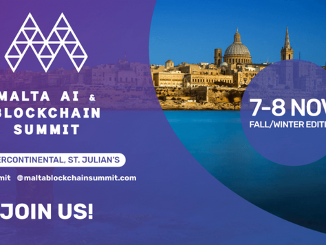 We Are Exhibiting And Speaking At The Malta AIBC Summit - Fall/Winter Edition!
