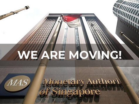 OUR HEADQUARTER IS MOVING INTO THE MAS BUILDING