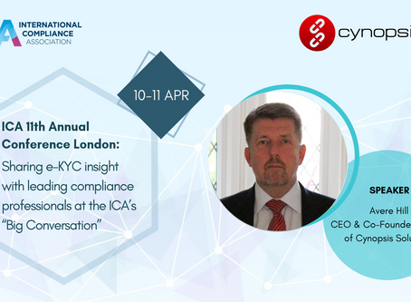 """Sharing e-KYC insight with leading compliance professionals at the ICA's """"Big Conversation"""""""