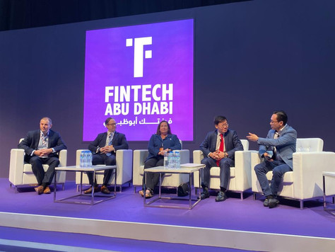 Wrapping up our participation at the FinTech Abu Dhabi 2019