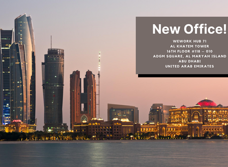 We Have Opened A New Office In Abu Dhabi!