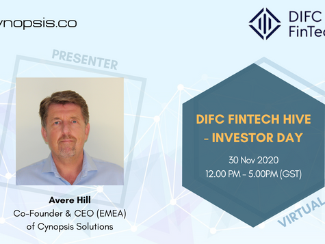 The Long-awaited DIFC FinTech Hive - 2020 Investor Day Event Is Here!