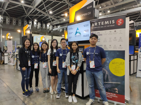 Cynopsis & traceto.io at Singapore FinTech Festival 2019