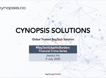 Cynopsis Solutions Is Featured In The #RegTechEdgeNoBorders Event