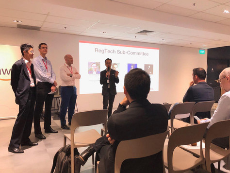 Chye Kit was Appointed as the Chair of Singapore FinTech Association (SFA) RegTech Sub-Committee