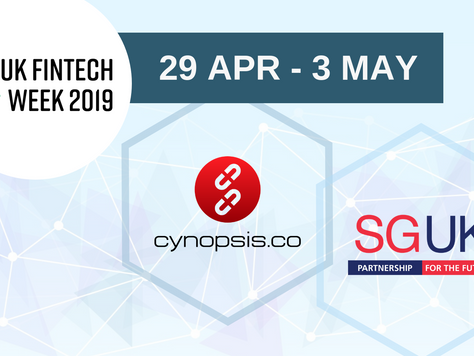 Cynopsis to be part of Singapore trade delegation attending UK FinTech Week