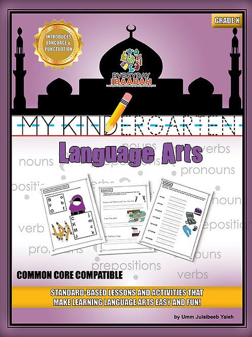 My Kindergarten Language Arts, Ages 4-5