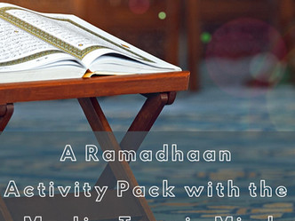 A Ramadhaan Activity Pack with the Muslim Teenager in Mind