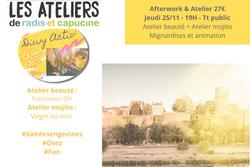 Afterwork & Atelier - Angers