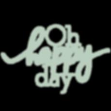 Logo da empresa de Assessoria e Cerimonial e Casamentos Oh Happy Day