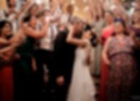 Sparkles para saída dos noivos