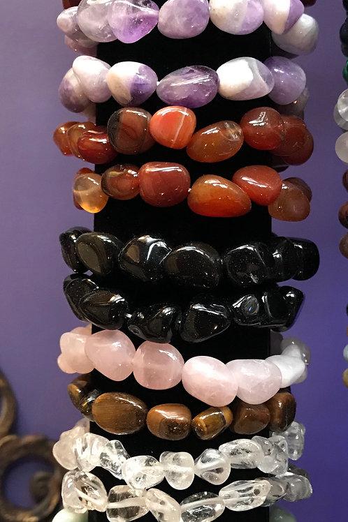 Tumbled Stone Bracelets
